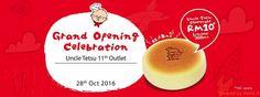 28 Oct 2016: Uncle Tetsu Grand Opening Celebration