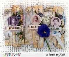 Vintage tags by Anna Rogalska