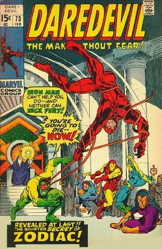 Daredevil # 73 by Marie Severin & Herb Trimpe