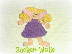 Applikation Leonie von Zucker-Wolle auf DaWanda.com