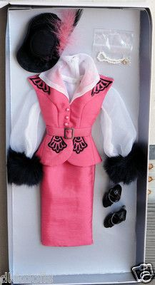 Tonner Matinee Luncheon Hollywood Glamour 16 In. Tyler Body Doll Outfit, 2011 is available on Ebay.