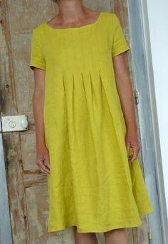 dress E from the stylish dress book by yoshiko tsukiori Stylish Dress Book, Stylish Dresses, Cute Dresses, Boho Fashion, Fashion Outfits, Womens Fashion, Smock Dress, Shirt Dress, Chikankari Suits