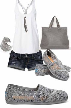 Silver Toms Crochet Classics Women's Shoes