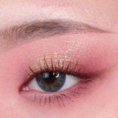 Fairy Eye Makeup, Doll Eye Makeup, Bridal Eye Makeup, Pretty Eye Makeup, Makeup Eye Looks, Eye Makeup Art, Simple Eye Makeup, Natural Eye Makeup, Cute Makeup