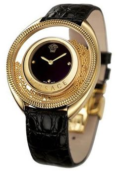 Versace black and gold