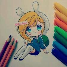 """Sharpie and color pencil faber castell eco"" Una Fiona pah lah banda~ Kawaii Anime, Kawaii Chibi, Cute Chibi, Kawaii Art, Kawaii Drawings, Cute Drawings, Manga Anime, Anime Art, Faber Castell"