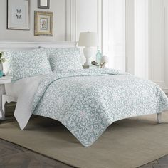 Found it at Joss & Main - Mia Quilt Set by Laura Ashley