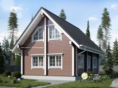 Дом из сухого бруса 6х9 в чашу. My House, Building A House, Kitchen Design, House Plans, New Homes, Shed, Outdoor Structures, Cabin, How To Plan