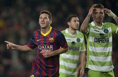 4-0: El Barça deja resuelta la eliminatoria con dobletes de Cesc y Messi