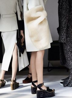 Céline Fall '14/'15 Shoe heaven. Jolie laide...ok, just laide. But perfect. £600 unfortunately.