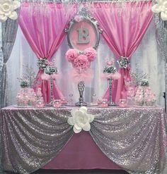 Enriching synchronized quinceanera ideas mexican look at here now Baby Girl Shower Themes, Girl Baby Shower Decorations, Baby Shower Princess, Princess Birthday, Baby Decor, Baby Birthday, Baby Shower Parties, Princess Party Decorations, Birthday Party Decorations