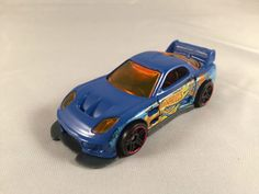 2011 Team Hot Wheels 5 Pack Target EXCLUSIVE 24/SEVEN Mazda Rx 7 Blue LOOSE #HotWheels #247Mazda