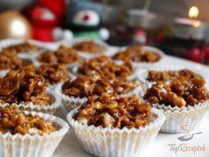 Hromádky z kukuřičných lupínků Christmas Sweets, Christmas Baking, Cornflakes, Cooking Cookies, Salty Snacks, Sweet And Salty, Mini Cupcakes, Sweet Recipes, Popular Recipes