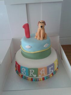 #pocoyo #lula #cake #tarta #pastel #fondant #infantil