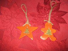 my handmade clay ornaments