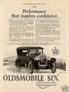 Oldsmobile Six Touring Car (1925)