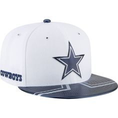 New Era Men s Dallas Cowboys 2017 NFL Draft 59Fifty Fitted White Hat 313c6955cee