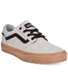 Vans puts their trademark skater twist on a classic sneaker form with these hip canvas kicks. | Canvas upper; rubber sole | Imported | Vans men's canvas sneakers | Lace-up closure with metal eyelets |