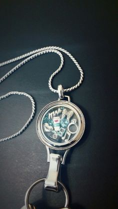 Origami Owl - Lanyard Twist Locket - Custom Jewelry. www.faithandsarcasm.origamiowl.com