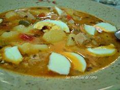 Las patatas Barbate son simplemente unas patatas guisadas con atún de lata. ¿No te parece fantástico?