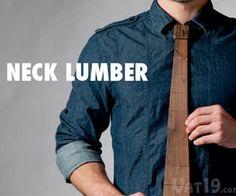 Wooden Tie.