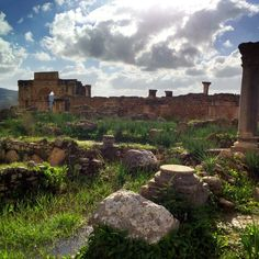 Situated not far from Meknes, between Fes and Rabat, the Roman ruins of Volubilis stand as a testament to a culture that changed the world forever. In the fertile area that the ruined city is located, it's difficult to remember you're in Morocco.