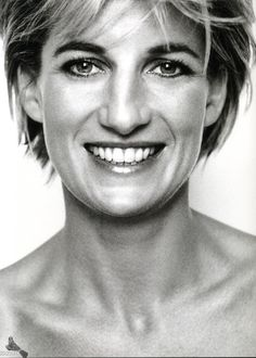 Diana ...whose beauty, both internal and external, will never be extinguished from our minds. - Part of the pics from Vogue.