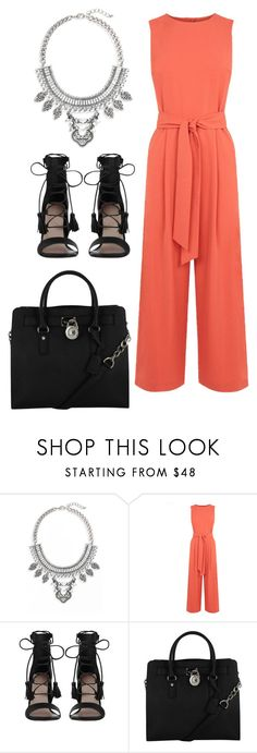 """""""Untitled #10338"""" by beatrizibelo ❤ liked on Polyvore featuring Leith, Warehouse, Zimmermann and Michael Kors"""