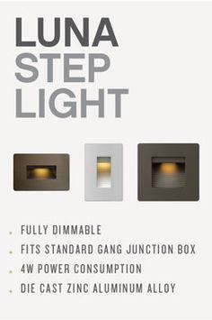 hinkley step lights - Google Search Junction Boxes, Aluminium Alloy, It Cast, Lights, Google Search, Light Fixtures, Lighting, Rope Lighting, Lanterns
