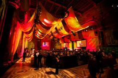 Attend a nyc gala event
