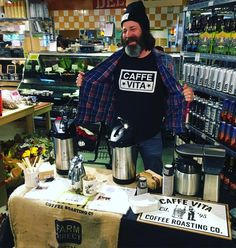 Thanks to @caffevita for sampling their delicious coffee in our co-op today! #seattle #capitolhill #centraldistrict #coffee #gocoop