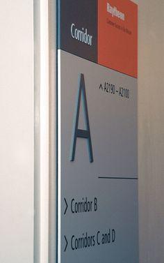 Raytheon #signage by David Mellen, via @Behance www.valiantdesigners.com
