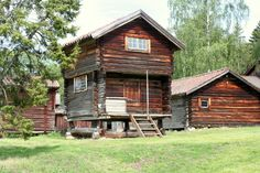 Web Server's Default Page Timber Cabin, Best Memories, Country Living, Building Design, Sweden, Places To Visit, Traditional, Architecture, Folklore