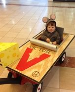 Homemade Mouse Trap Costume