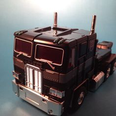 Transformers Masterpiece MP-10b Destron Unicron Herald Black Convoy (Takara). Made with a homemade  box light's and an iPhone 5