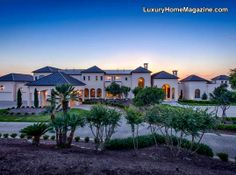 Legendary Dominion Estate #luxury #homes #house #mansion #architecture #design #yard #landscape