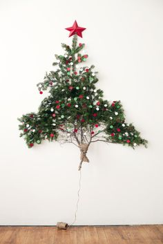 Holiday Decorations for just $1 + paper scraps