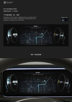 Mercedes-Benz Dashboard Design on Behance