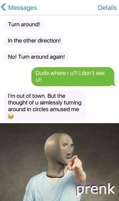 Funny Texts Jokes, Text Jokes, Crazy Funny Memes, Really Funny Memes, Stupid Funny Memes, Funny Laugh, Funny Relatable Memes, Hilarious, Funny Stuff