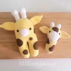 littlecosythings crochet giraffe