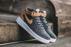 Nike Air Force 1 '07 Mid Leather Premium (Oatmeal)