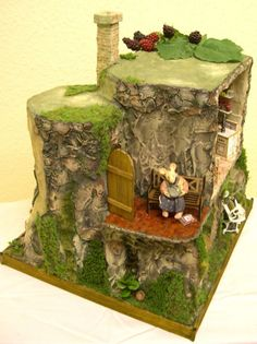1/24 mouse house