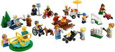 LEGO CITY PLEZIER IN HET PARK CITY PERSONEN SET 60134 - Beleef een vrolijke dag in het park met een aantal inwoners van LEGO® City. Inclusief speeltuingereedschap, een picknicktafel, een parkbank en een hotdog-kar. Inclusief 15 minifiguren plus een hond. https://www.olgo.nl/lego/city.html