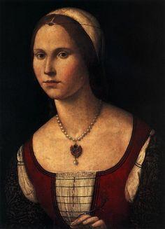 "Carpaccio's ""Portrait of a Young Woman"" (c.1495)"