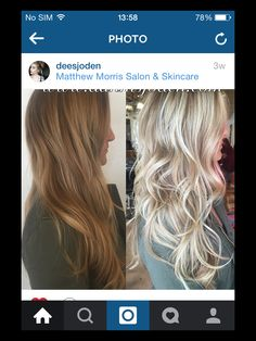 Another beautiful balayage by the talented DeeSJoden  #olaplex #blonde