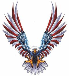 Inch Vinyl Car USA Eagle Wings United States Flag Bumper Window Stickers Decal - Personalized Window Decals For Cars Eagle Tattoos, Wolf Tattoos, Tribal Tattoos, Skull Tattoos, Sleeve Tattoos, Tatoo 3d, Tatto Ink, American Flag Decal, American Flag Eagle