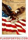 Freedom Eagle Garden Flag Patriotic Flags, House Flags, Garden Flags, 4th Of July Wreath, Freedom, Eagle, Wreaths, Decor, Liberty