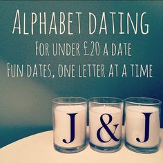 Alphabet dating suggestions for hostess