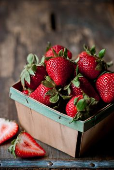 """Photo: Michael  """"I shoot with a Nikon D80 camera and use mostly a 100mm macro lense."""" #Strawberries"""
