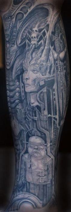 Gieger Tattoos Designs: 39 Best Giger Tattoo Images